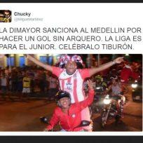 Memes Medellín Campeón Fuente: Facebook