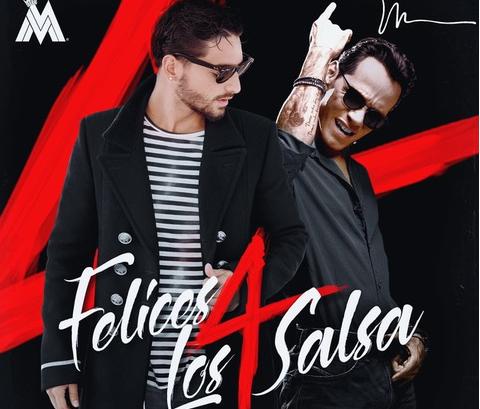 Maluma lanza el video oficial de 'Felices Los 4' Versión salsa junto a Marc Anthony