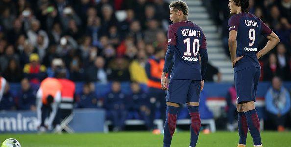 Incidentes en el juego entre Neymar y Cavani