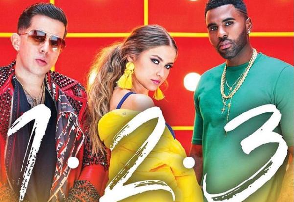 Sofía Reyes estrena su nuevo sencillo '1, 2, 3' junto a Jason Derulo y De La Guetto