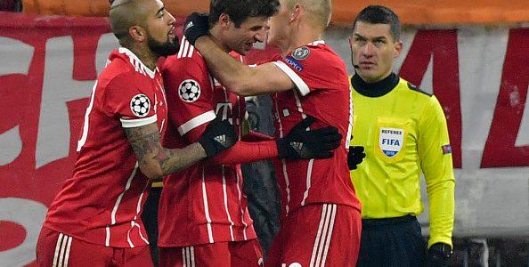 Bayern Munich quedó muy cerca de la clasificación