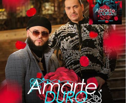"""Víctor Manuelle lanza sencillo y video """"Amarte duro"""" Feat Farruko"""