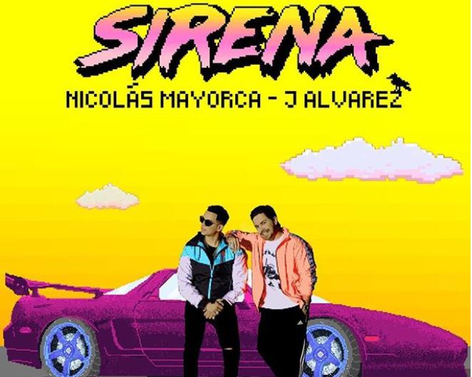 """Nicolás Mayorca y J. Álvarez se unen para crear """"Sirena"""""""
