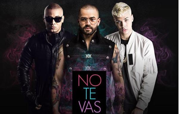"""Mira el video oficial de """"No Te Vas Remix"""", canción de Nacho junto a Wisin y Noriel"""