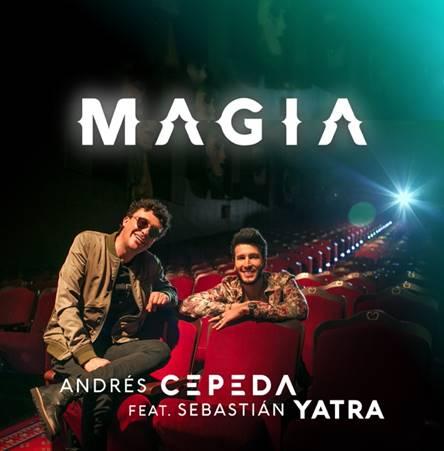 Andrés Cepeda y Sebastián Yatra estrenaron su canción 'Magia'