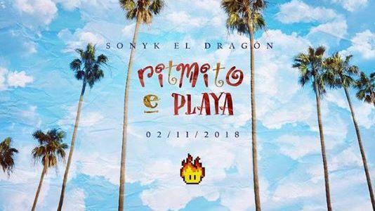 """Sonyk El Dragón estrena su canción """"Ritmito e' Playa"""""""
