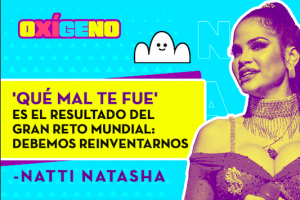 Natti Natasha nos revela cómo grabó el video de 'Qué mal te fue'