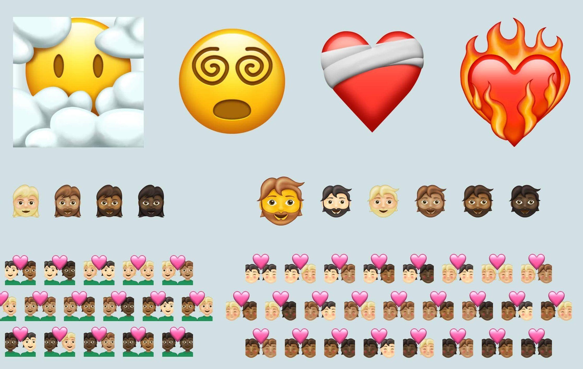 Nuevos emojis llegarán a WhatsApp, entre ellos un corazón en llamas