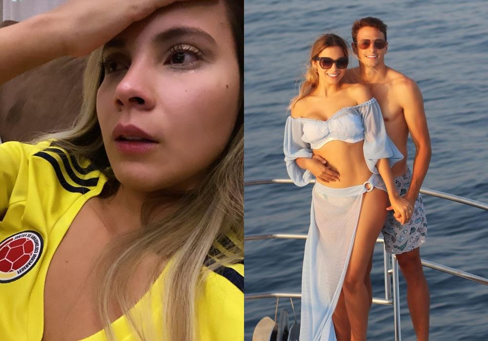 """""""Sin palabras, pero con mucha fe"""": la reacción de la esposa de Santiago Arias por su lesión"""
