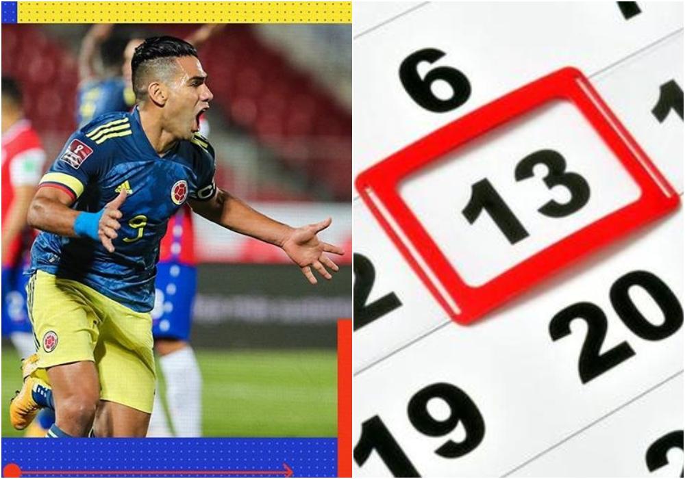 Falcao salvó a la Selección Colombia en el martes 13, día de 'la mala suerte'