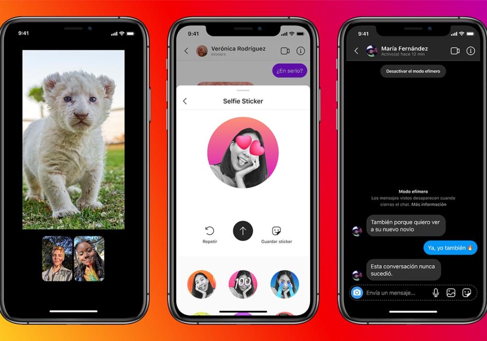 Instagram actualiza sus mensajes y ahora se podrán enviar desde Messenger
