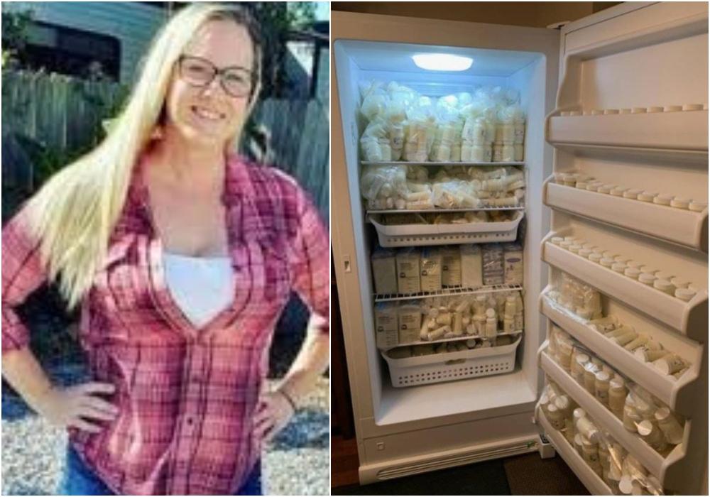 Una mujer vende su leche materna por Internet y ha ganado miles de dólares