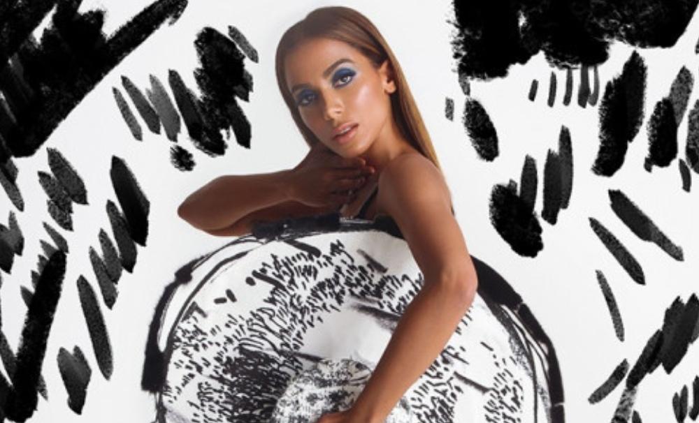 "Anitta lanza el remix de ""Me gusta"" junto a Carbi B y 24KGOLDN"