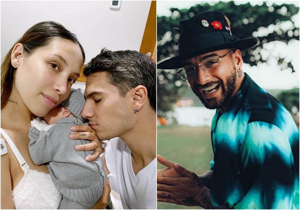 Maluma comparte la primera foto con su ahijado Máximo, el hijo de Luisa Fernanda W