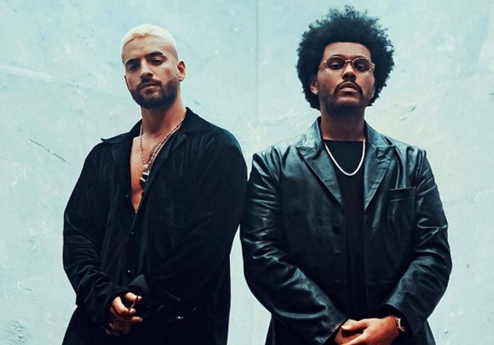 """Nadie lo esperaba: Maluma y The Weeknd se unen en el remix de """"Hawái"""""""