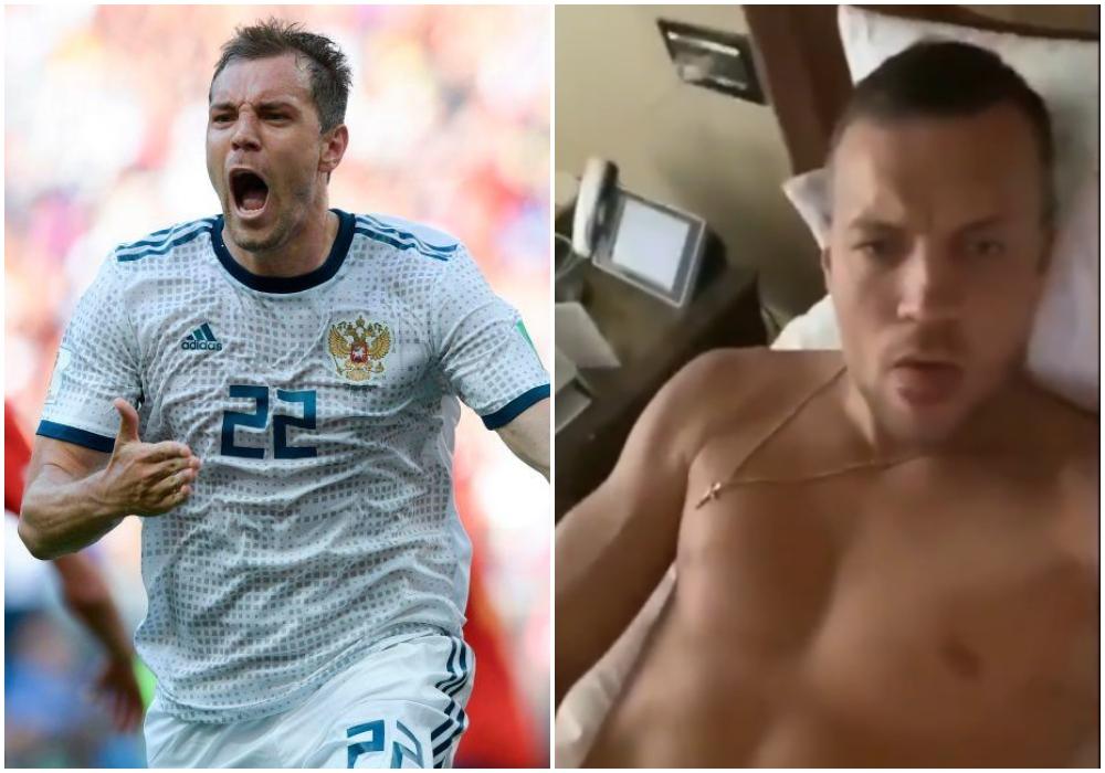 Futbolista es expulsado de su selección por un video en el que aparece masturbándose