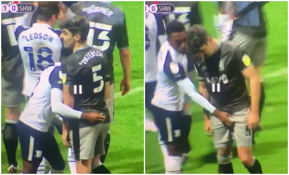Video viral: futbolista toca dos veces las partes íntimas de su rival en pleno partido