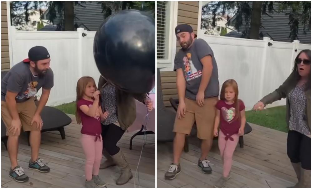 Video viral: niña arruina un baby shower y hasta le armó una pataleta a los papás