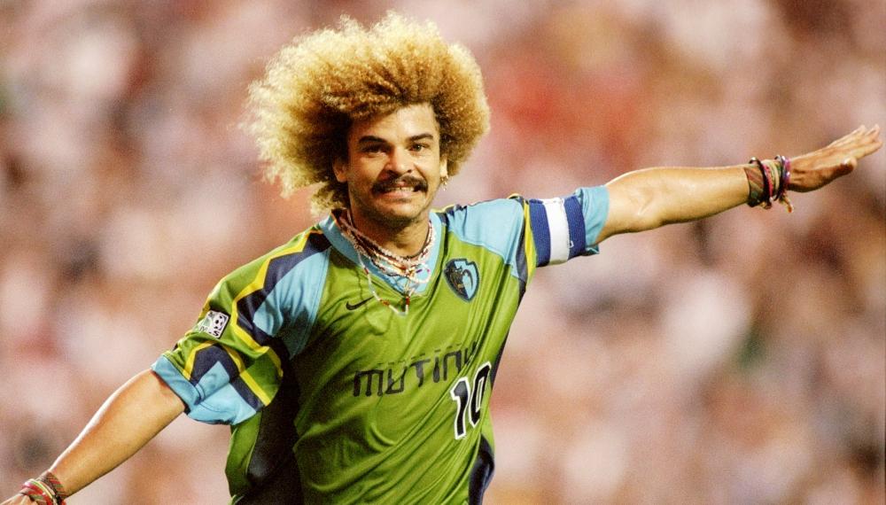 """El """"Pibe"""" Valderrama en el top de los jugadores más influyentes en la historia de la MLS"""