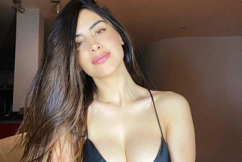 Jessica Cediel se subió la blusa para protagonizar sensual baile