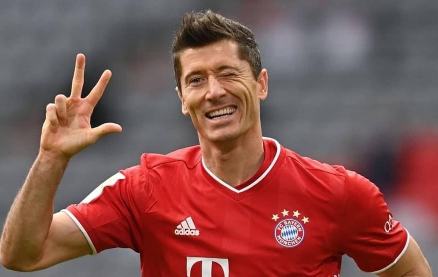 Lewandowski ganó el premio a mejor jugador del 2020, superando a Messi y Cristiano