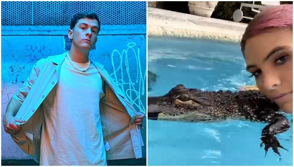 Guaynaa niega maltrato animal por el video de Lele Pons con un lagarto