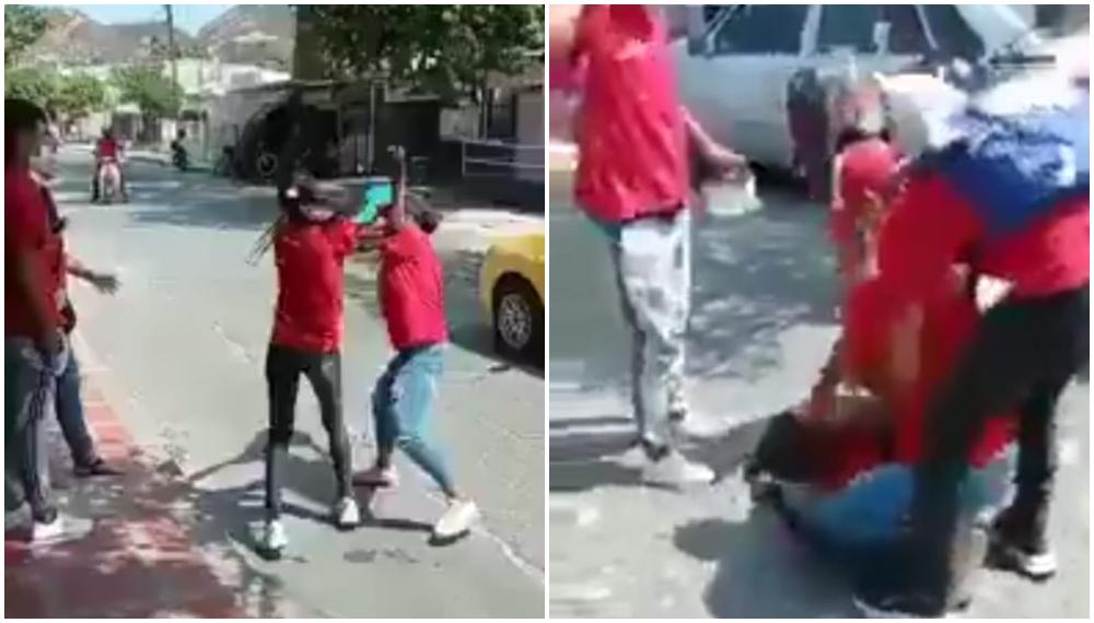 Mujeres pelean 20 mil pesos
