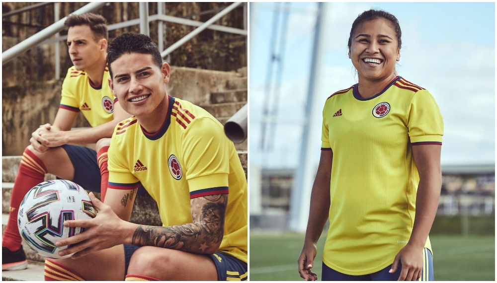 Selección Colombia nueva camiseta