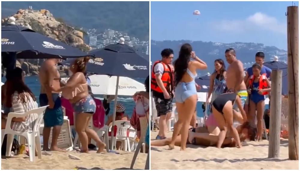 Video chancla Acapulco