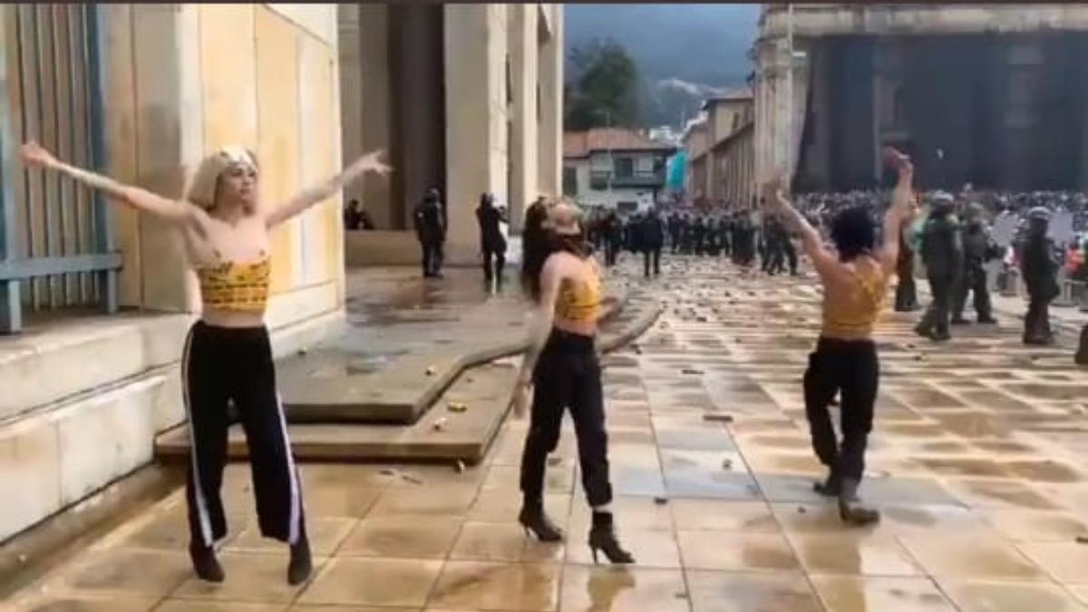 Activistas bailaron voguing en el Paro Nacional