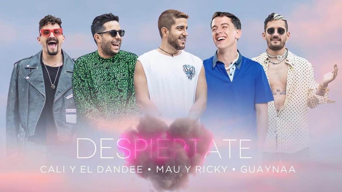 Mau y Ricky, Cali y El Dandee y Guaynaa en Despiértate