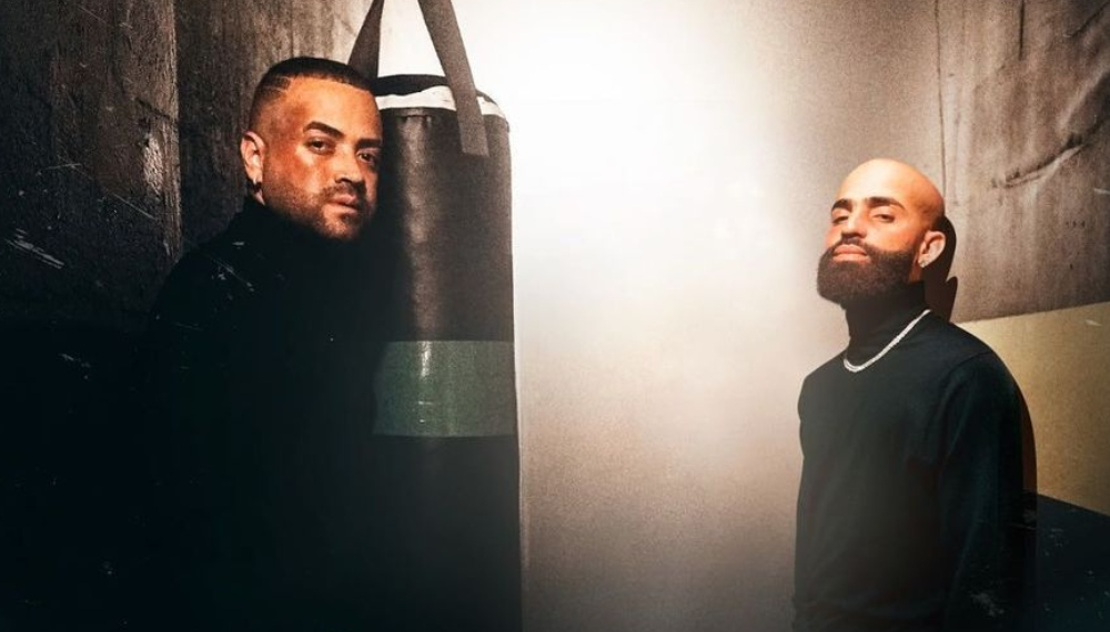 Nacho y Arcángel Saco de boxeo