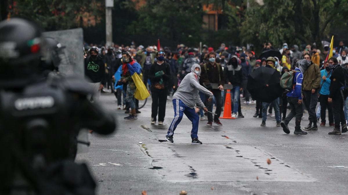 Joven rechazó las marchas porque no pudo ir a McDonald's