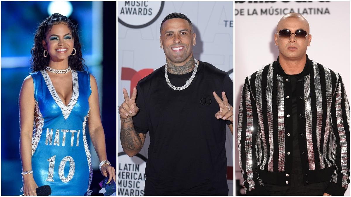 Natti Natasha, Nicky Jam, Wisin y más artistas internacionales que rechazan la violencia en Colombia