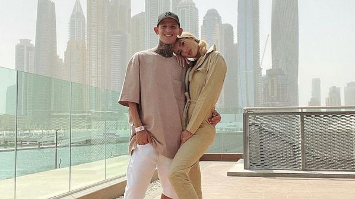 La Liendra y Dani Duke pasearon en Lamborghini