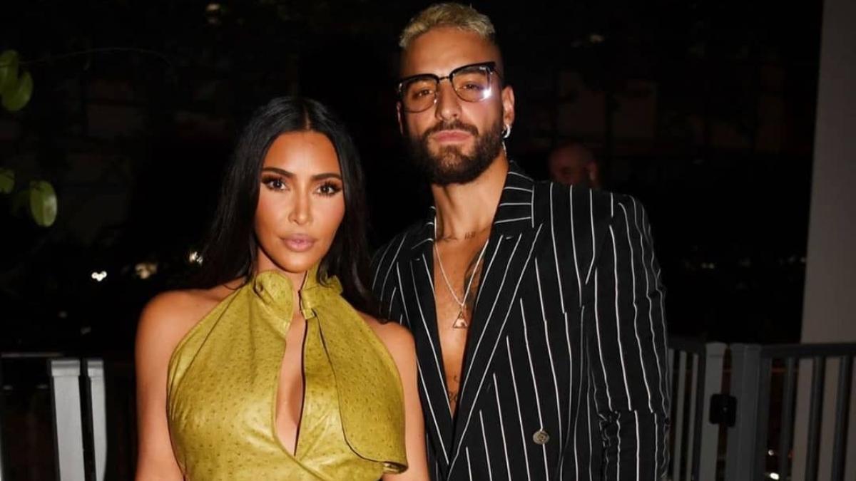 Maluma envió un regalo a Kim Kardashian