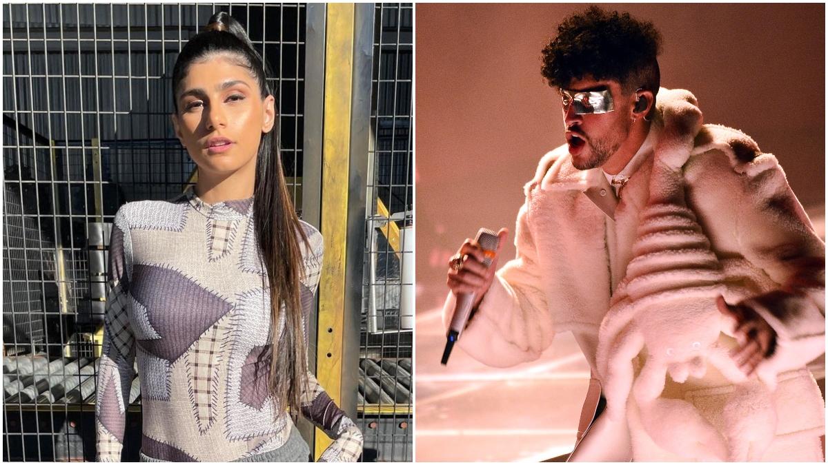 Mia Khalifa reacciona a Yonaguni de Bad Bunny