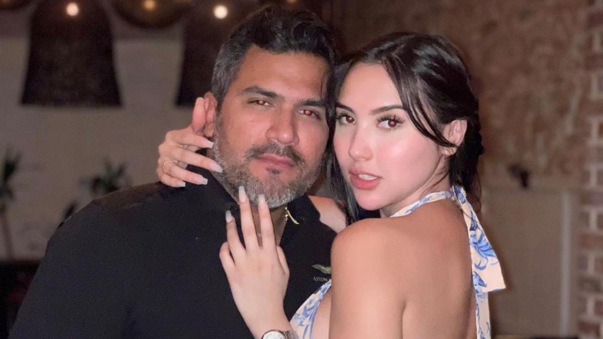 Novio de Aida Victoria Merlano está hospitalizado