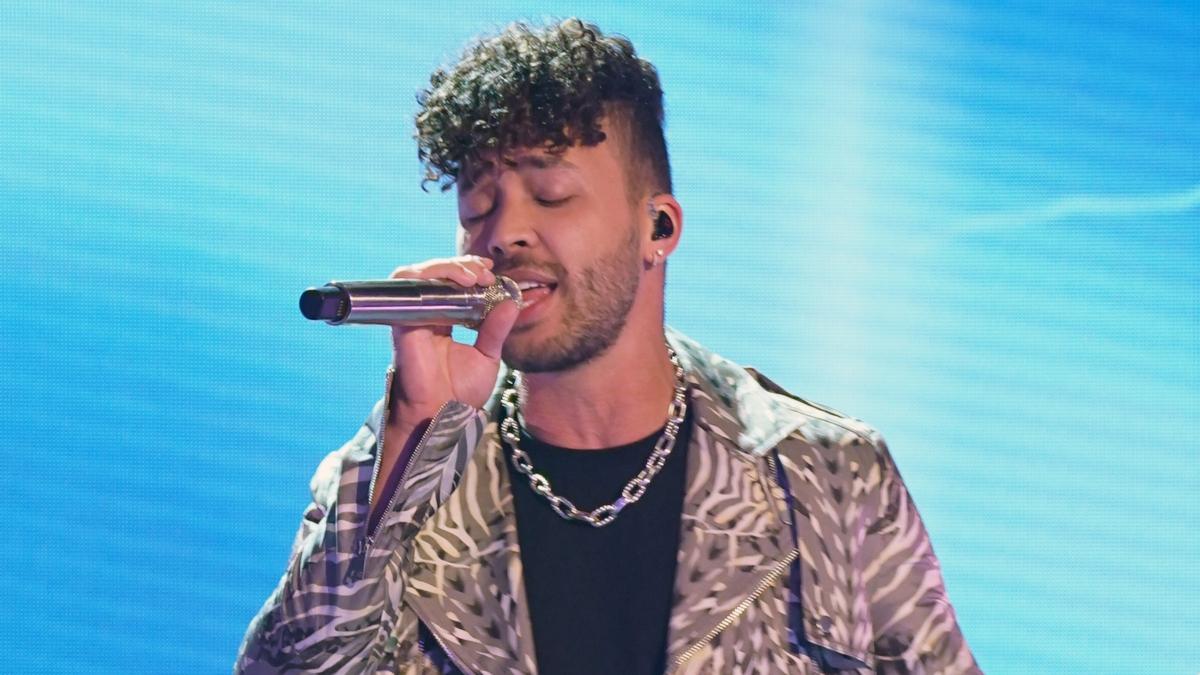 Prince Royce en los Latin American Music Awards, Florida 2021
