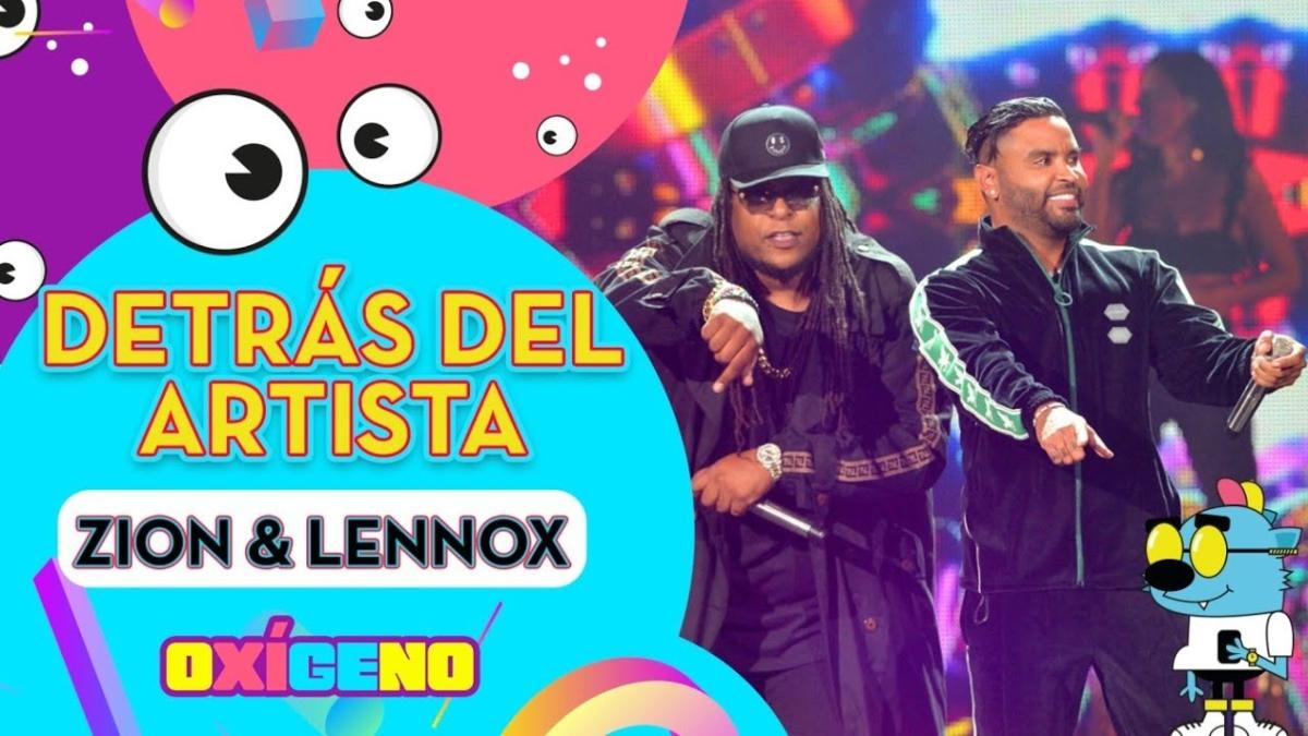 Zion y Lennox en el Día Internacional del Reggaetón